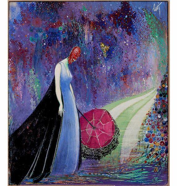 LottiDames - Dame au parapluie
